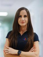 Milena Kowalczyk, fizjoterapeutka i trener przygotowania motorycznego z Carolina Medical Center